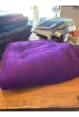 Brushed Woven Blanket, Cotton Blend