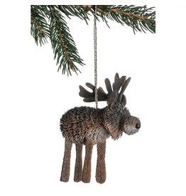 Bottle Brush  Moose Ornament, Philippines
