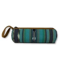 San Marcos Pencil Case Turquoise, Guatemala