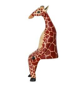Stoic Giraffe Sculpture. Kenya