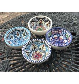 Ceramic Bowl, Round, Tunisia