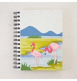 Large Notebook, Flamingo, Sri Lanka