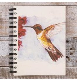 Large Notebook, Hummingbird, Sri Lanka