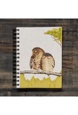Large Notebook, Owls, Sri Lanka
