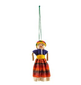 Worry Doll Ornament, Guatemala