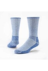 Mountain Hikers' Socks, Organic Wool, Blue