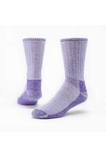 Mountain Hikers' Socks, Organic Wool, Purple