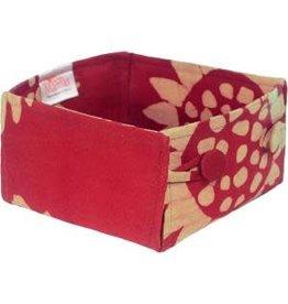 Button Basket, Sunflower, Mini, Ghana