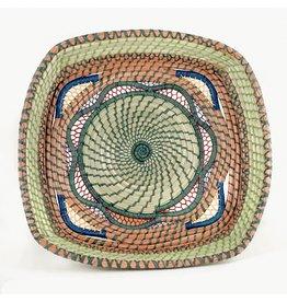 Dahlia Pine Needle Basket, Guatemala
