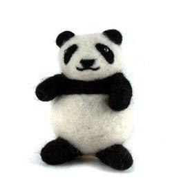 Felted Wool Panda, Guatemala