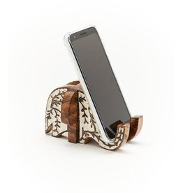 Antique Finish Smartphone Dock, Elephant, India