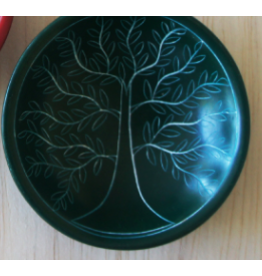 Tree of Life Round Dish, Deep Purple