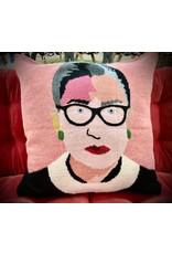 100% Alpaca Knit RBG Pillow Cover, Bolivia