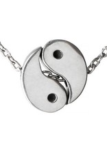 You Complete Me, Yin/Yang Pewter Necklace, Thailand