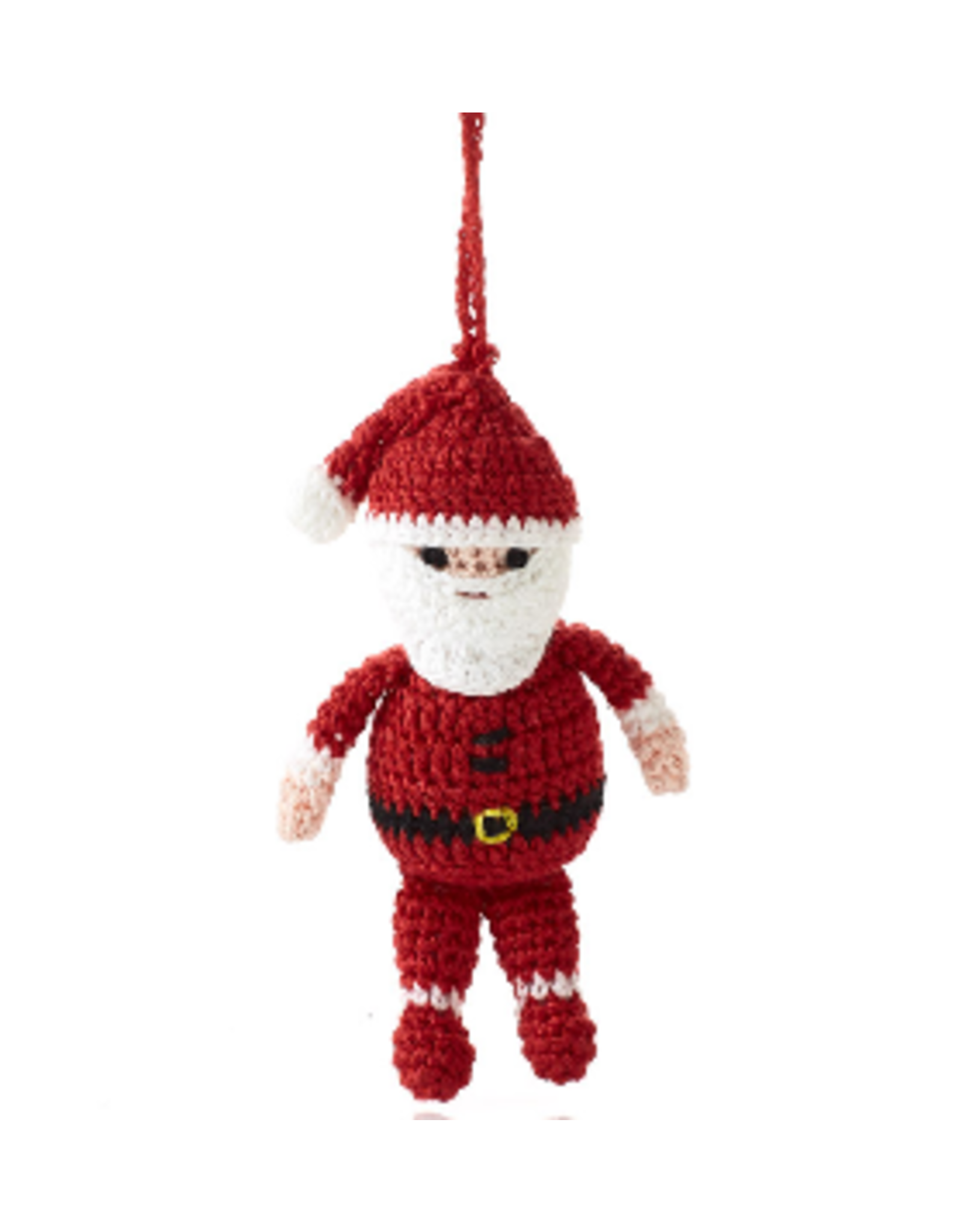 Crocheted Santa Ornament, Vietnam