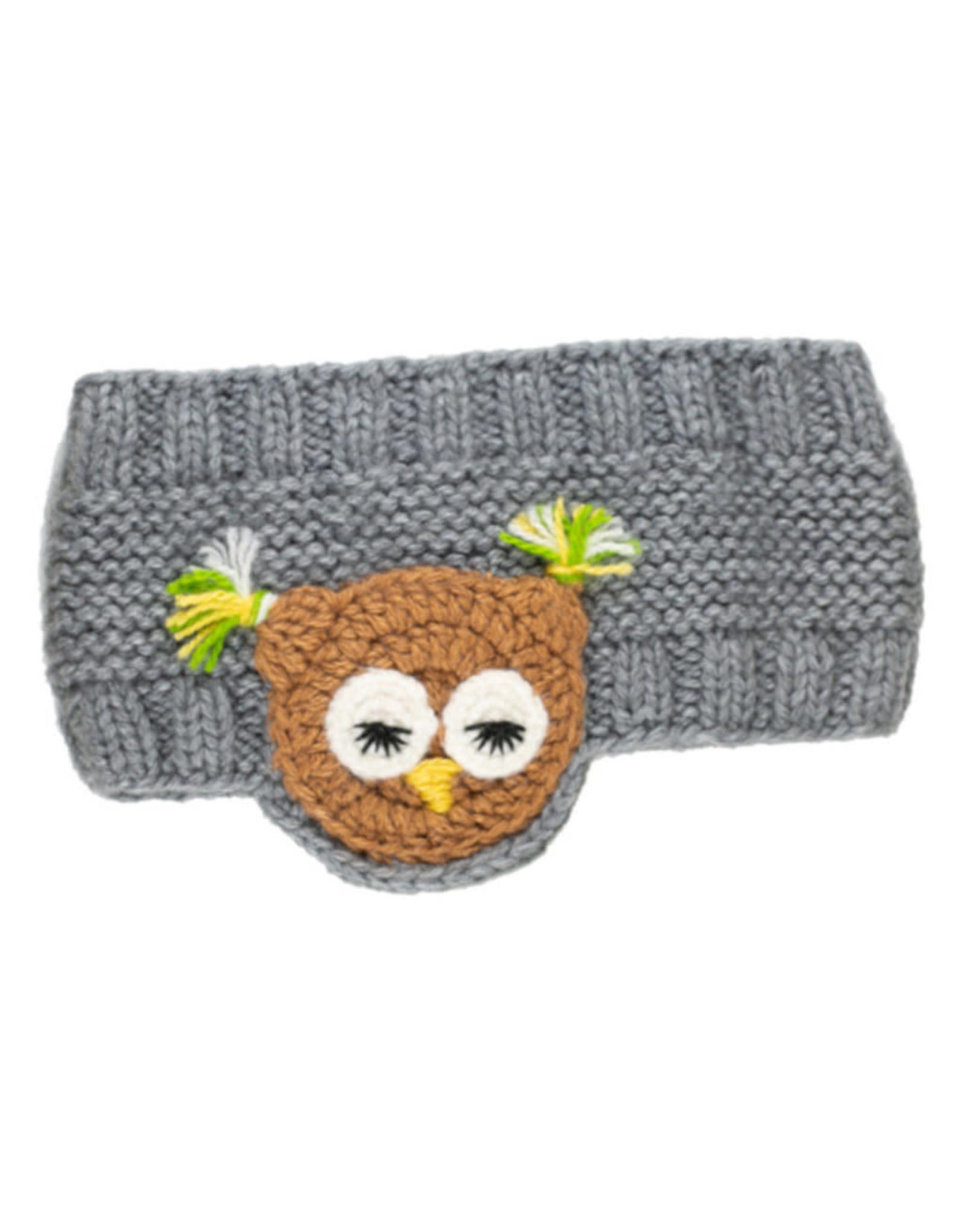 Animal Earwarmer, Owl, Peru