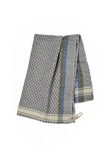 Blue Egyptian Cotton  Checked Tea Towels, Egypt