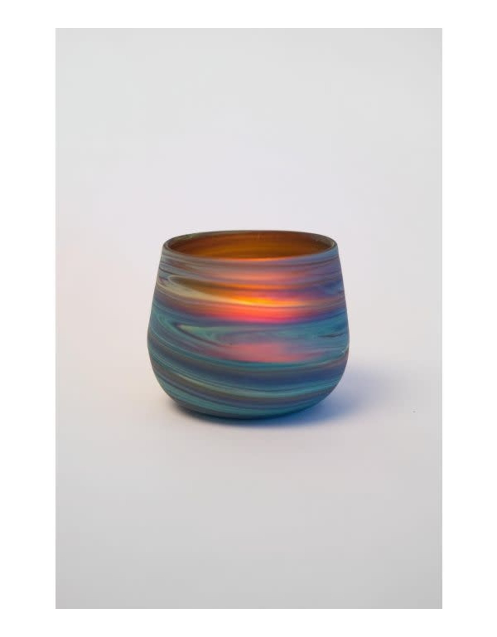 West Bank, Phoenician Glass Candle Holder