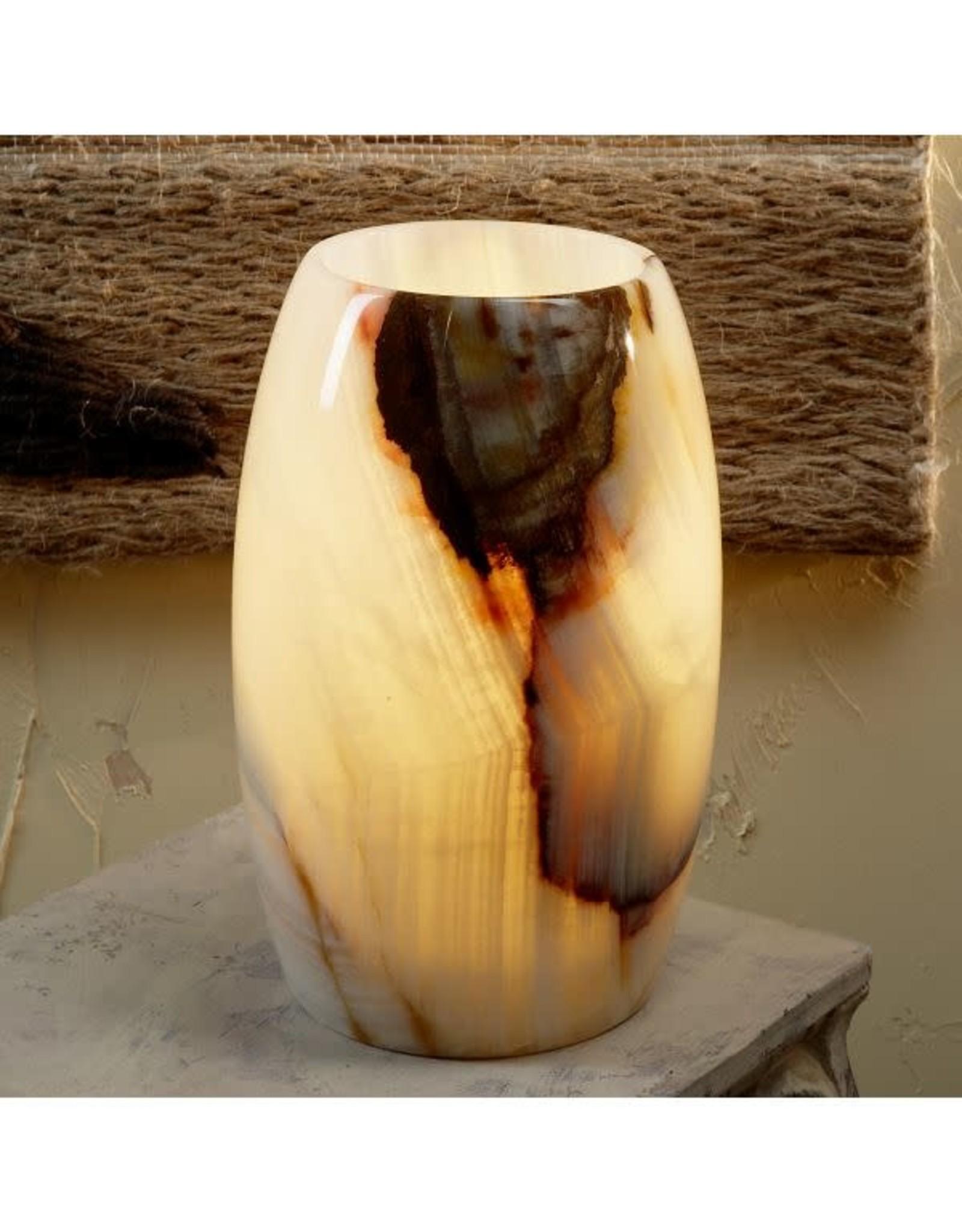 Glowing Onyx Lamp, Pakistan