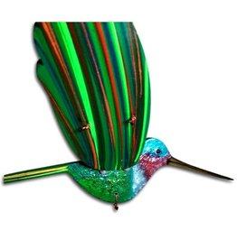 Small Mobile, Hummingbird, Green/Ruby