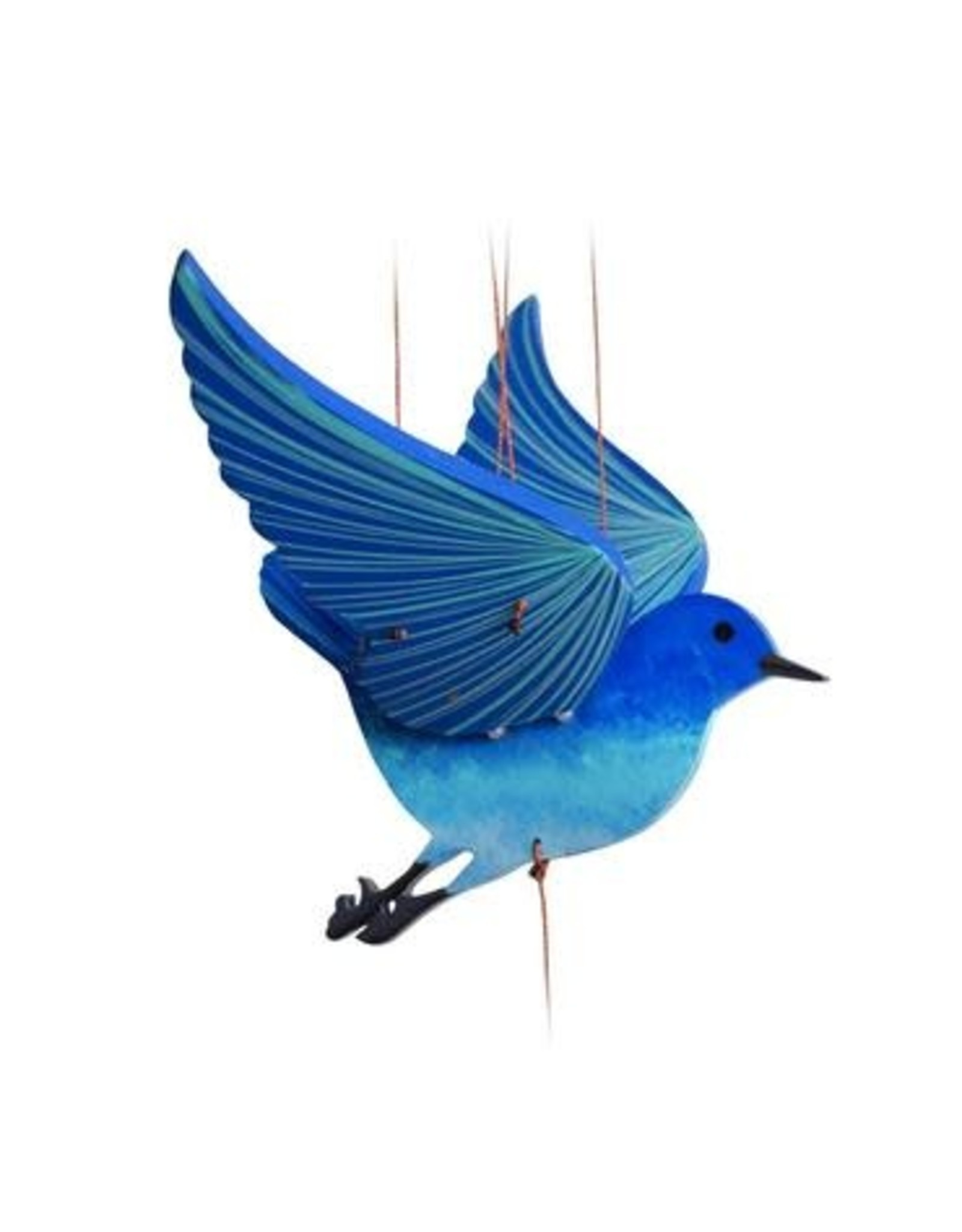 Sparrow, Blue Bird of Happiness Mobile, Columbia