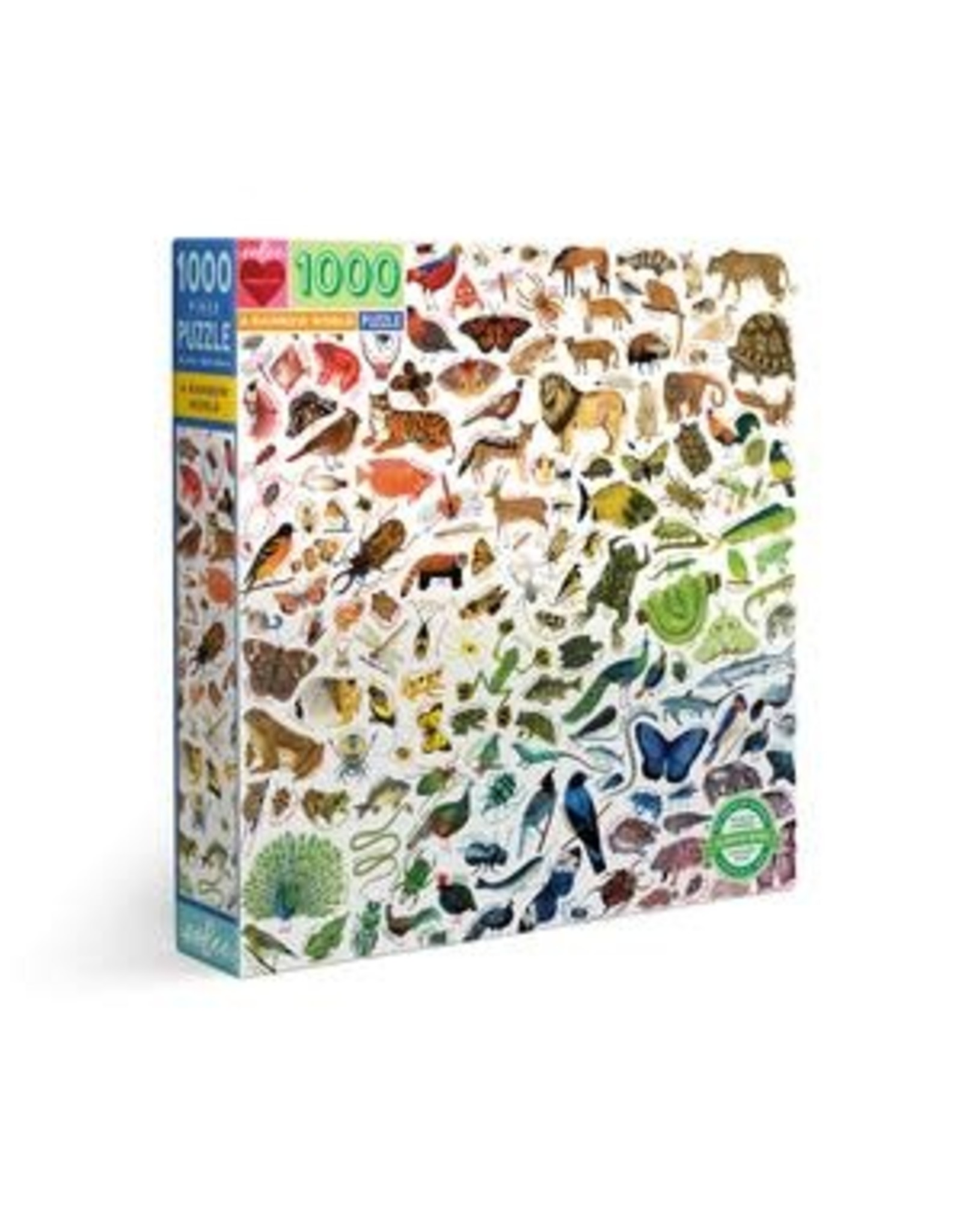 A Rainbow World Puzzle, 1000 Pieces