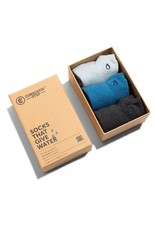 Socks that Give Water, Ankle Height, Set of 3