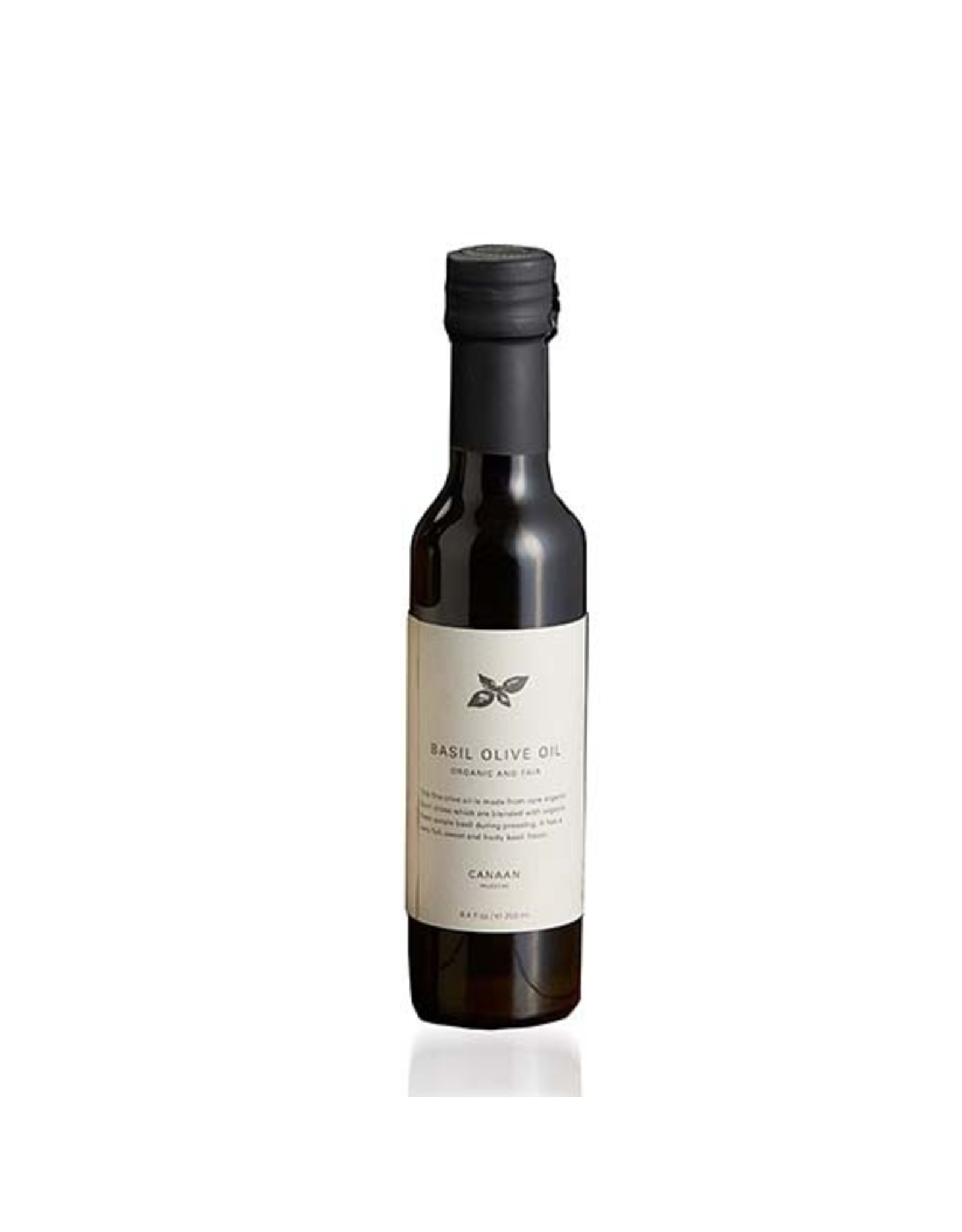 Canaan Infused Olive Oil  Basil, West Bank
