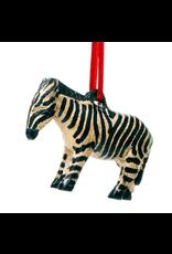 Jacaranda Zebra Ornament, Kenya