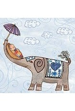 Putumayo Cards, Elephant New Baby