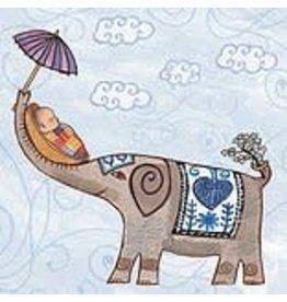 Putumayo Cards, Elephant New Baby