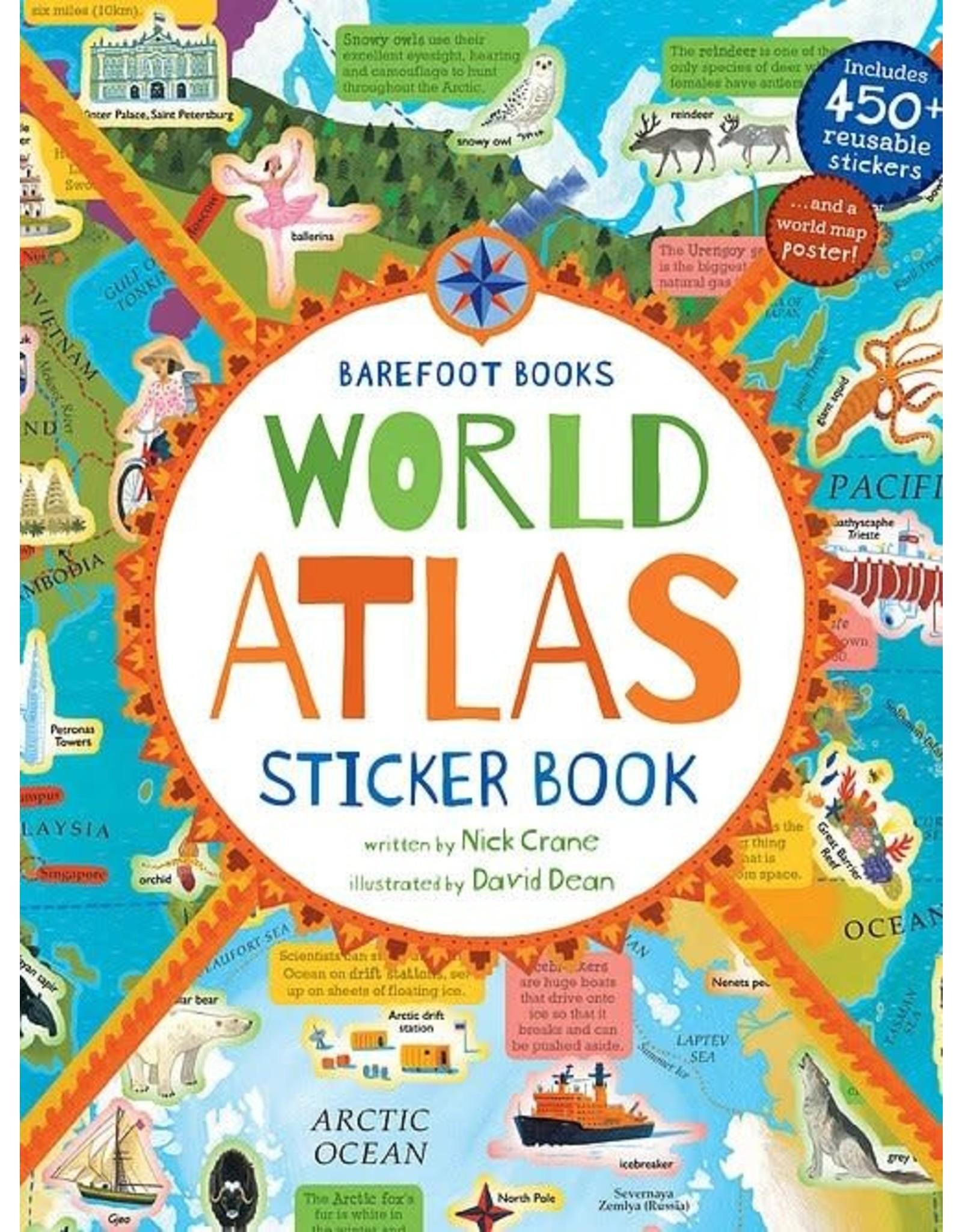 Putumayo Book World Atlas Sticker Book