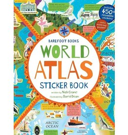 Putumayo Book World Atlas Sticker Book