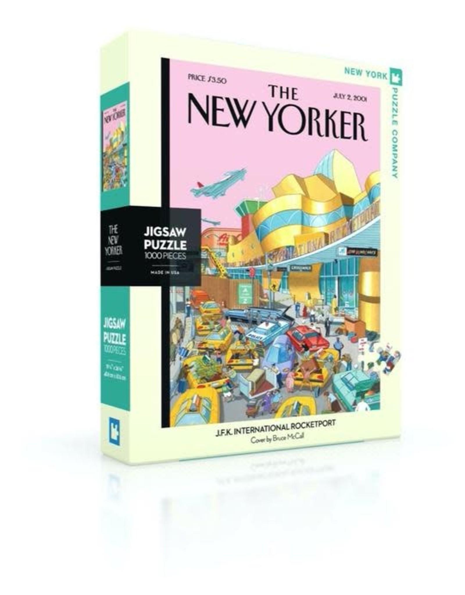 JFK International Rocketport Puzzle, 1000 Pieces