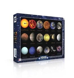 The Solar System Puzzle, 1000 Pieces
