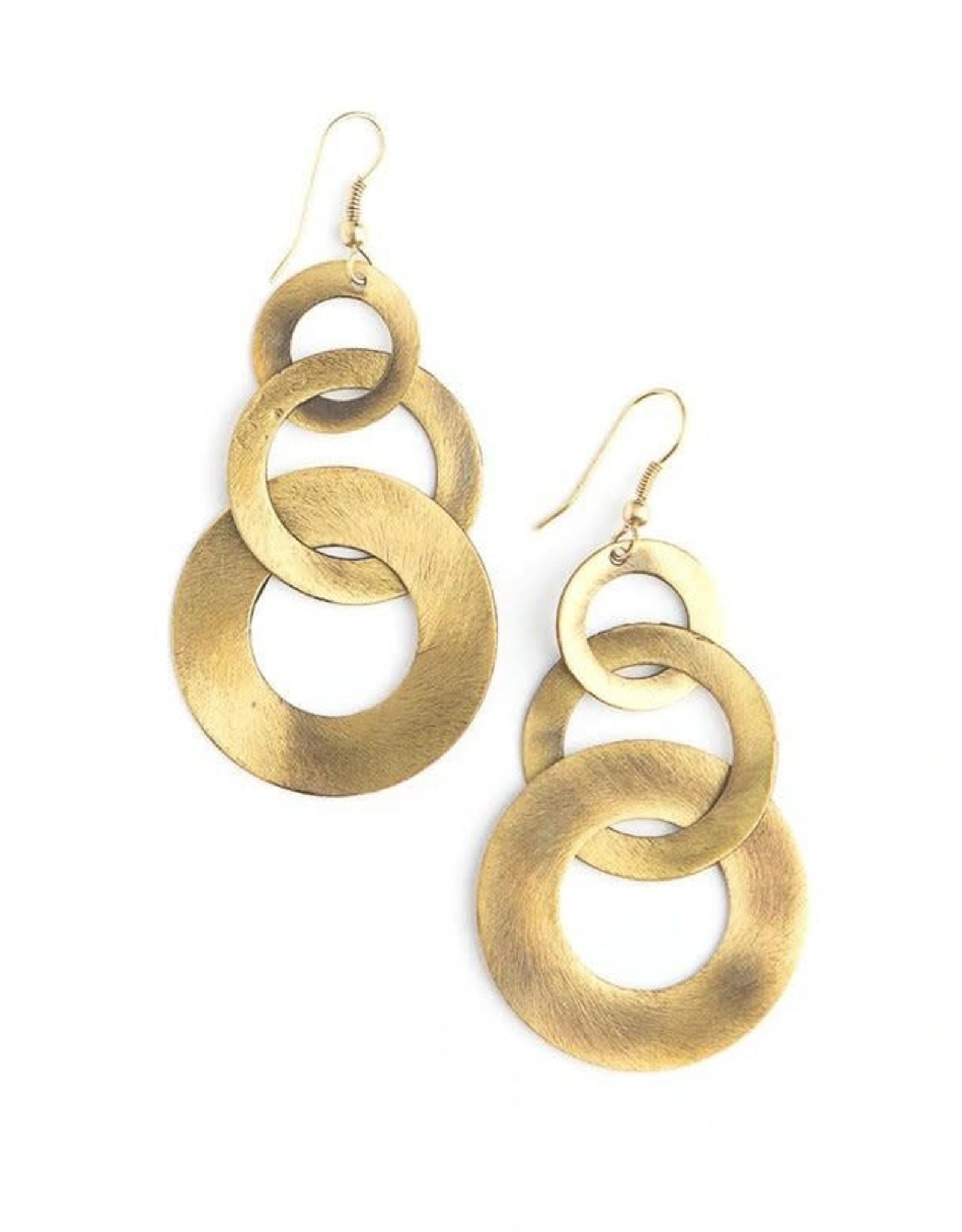 Leopard Loop Earrings, India