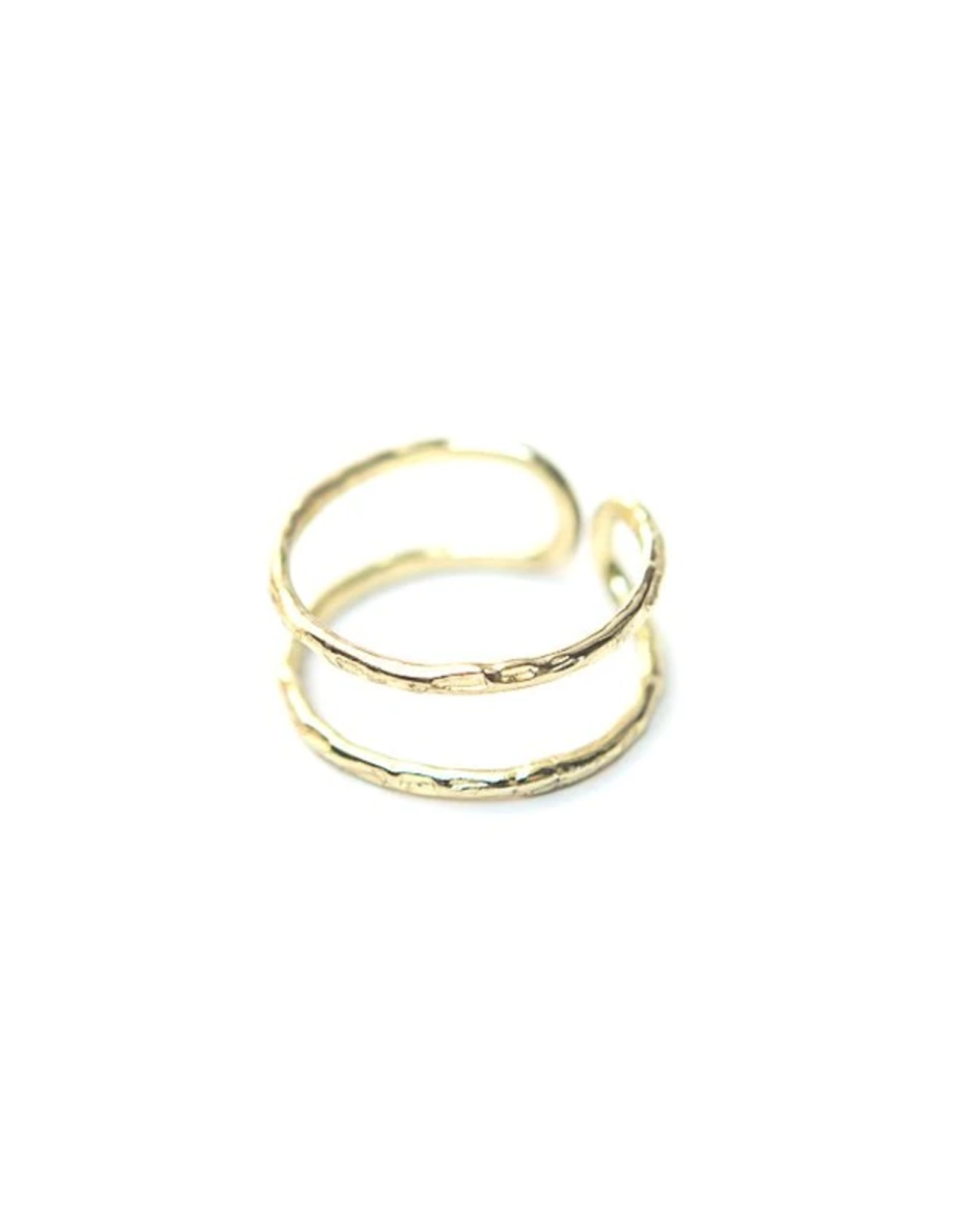 Illusion Ring Brass, India