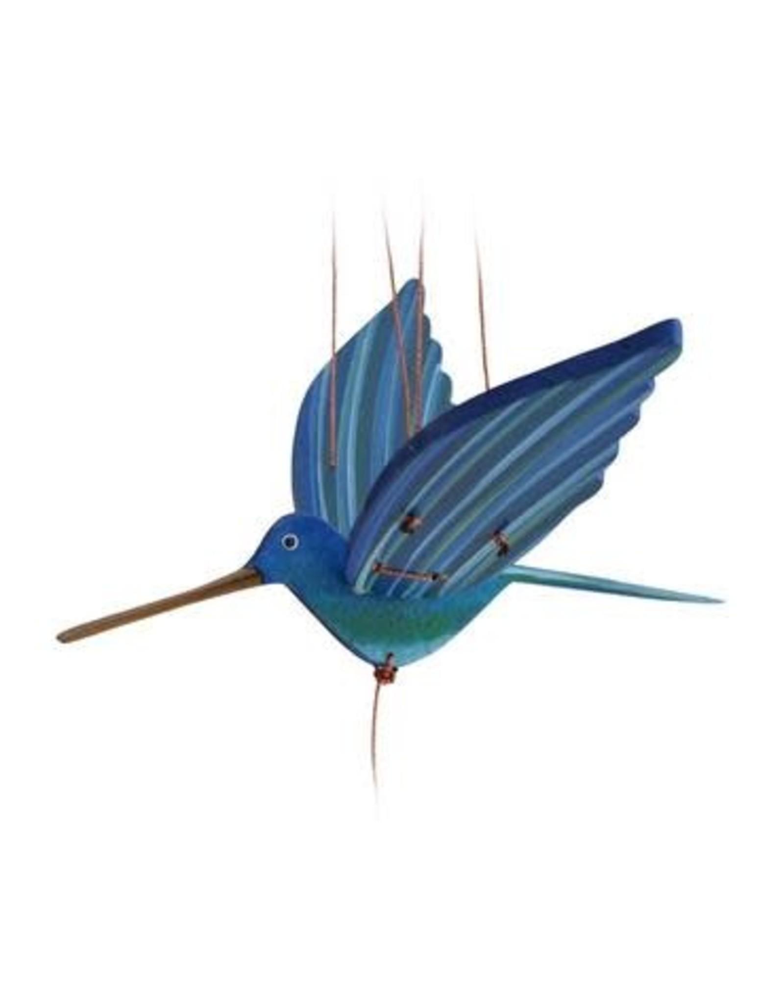 Hummingbird, Mobile, Blue