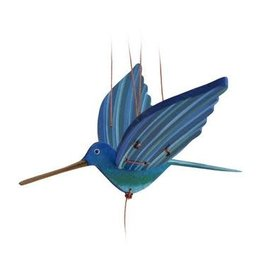 Hummingbird, Mobile, Blue