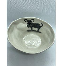 Ceramic  Serving Platter, Dog