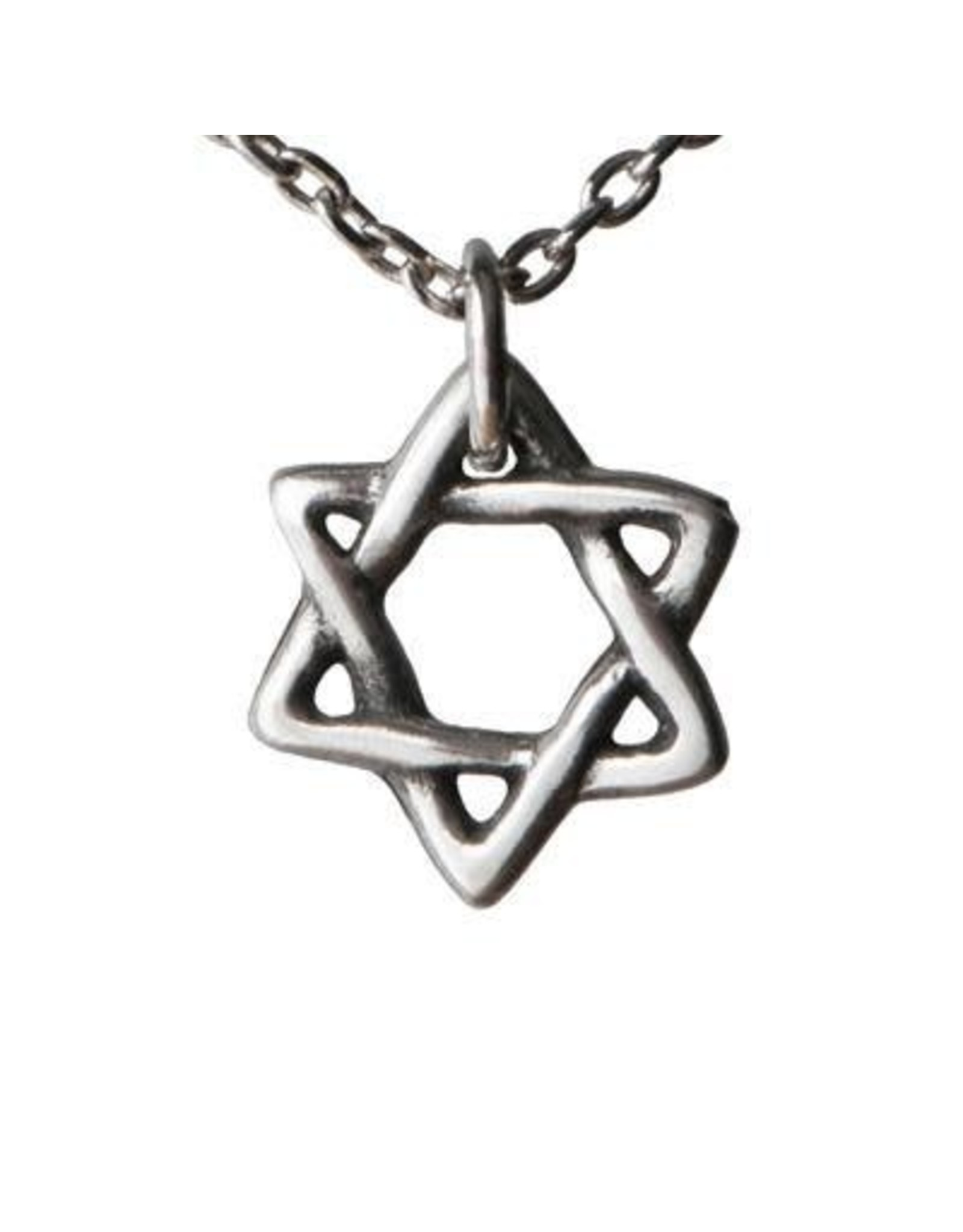 Star of David Pewter Necklace, Thailand