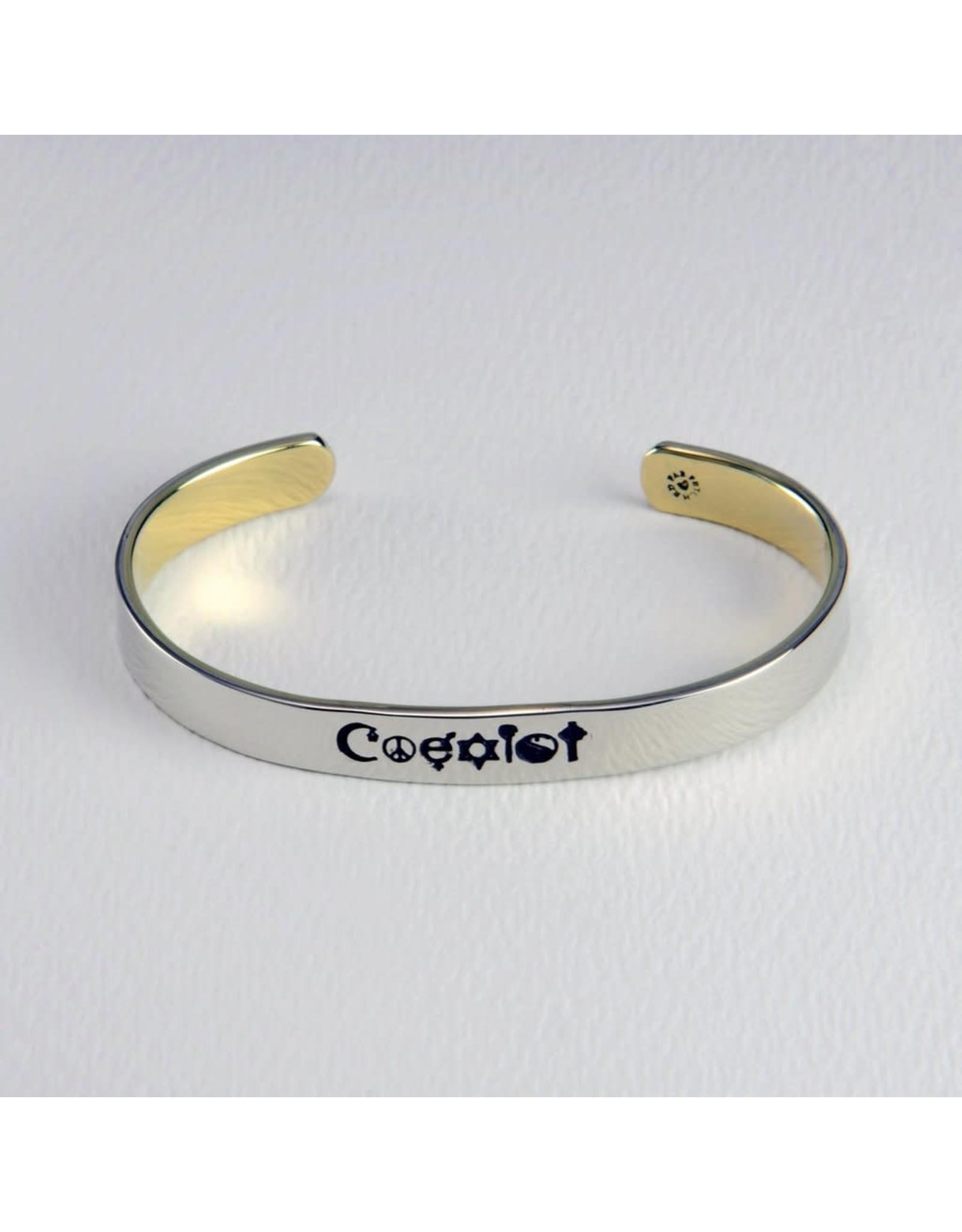Coexist Cuff Bracelet, Mexico