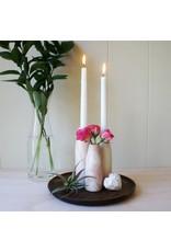 Natural Soapstone Candleholder Vase