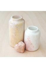 Natural Soapstone Jug Vase, LARGE