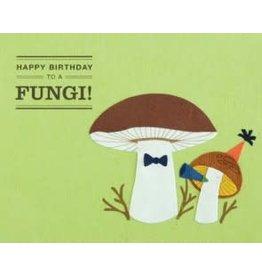 Happy Birthday Fungi Greeting Card