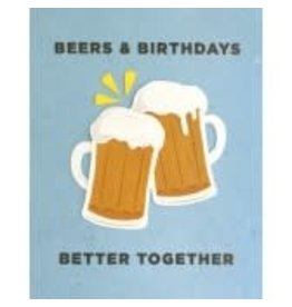 Cheers Emoji Birthday Greeting Card