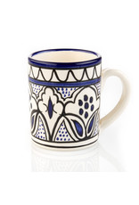 Ceramic Mug Blue, West Bank
