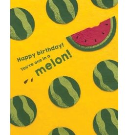 One Melon Birthday Greeting Card