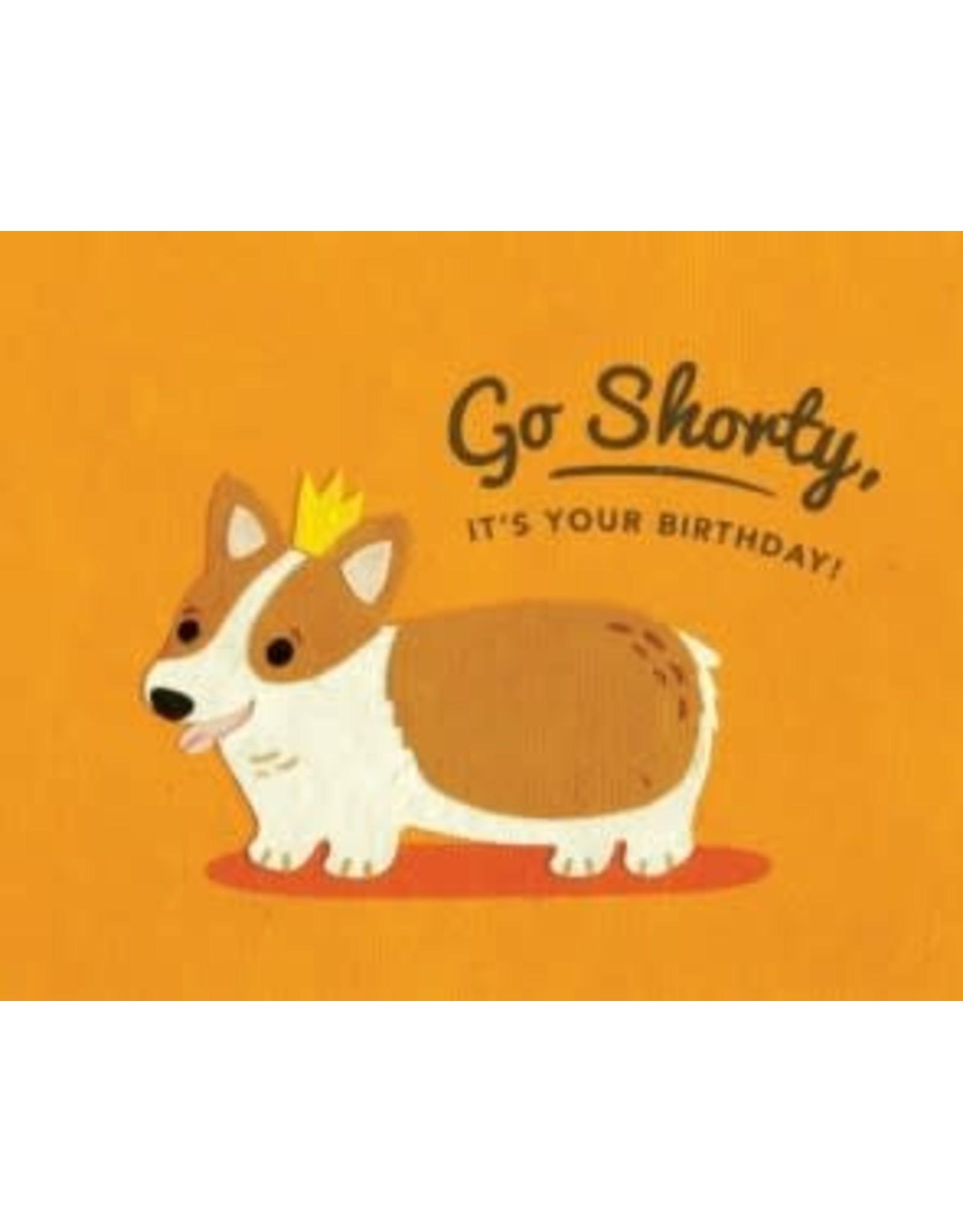 Corgi Shorty Birthday Greeting Card