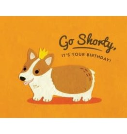 Corgi Shorty Birthday Greeting Card